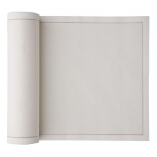 Small Cotton Cocktail Napkins (16 x16cm) Bulk Roll - Cream